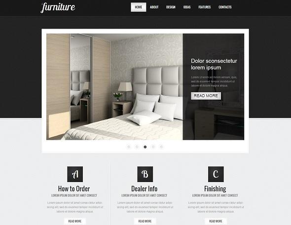 طراحی سایت دکوراسیون داخلی و لوازم منزل
