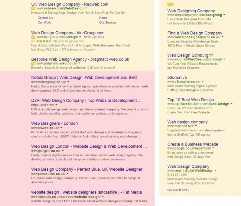 تفاوت نتایج تبلیغی با نتایج طبیعی در گوگل