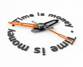 زمان: بزرگترین سرمایه برای طراحی وبسایت