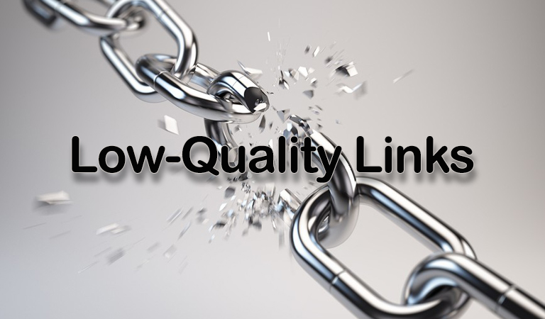 low quality link- بک لینک